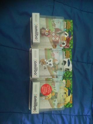 Pack de 3 amiibos Nintendo de Animal Crossing