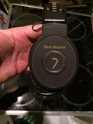 Smartwacht y cascos Del Real madrid