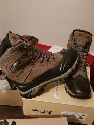 botas montaña, nieve, caza.. nuevos alta calidad