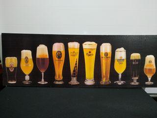 Lienzo cervezas