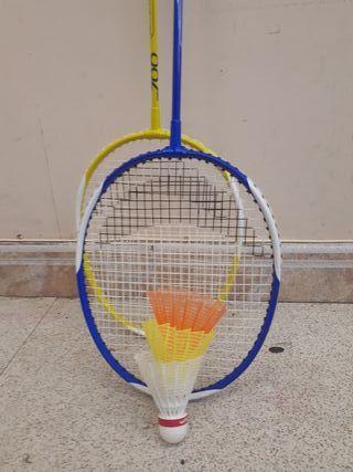 Raquetas y volantes de bádminton