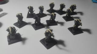 WarHammer, hombres lagarto