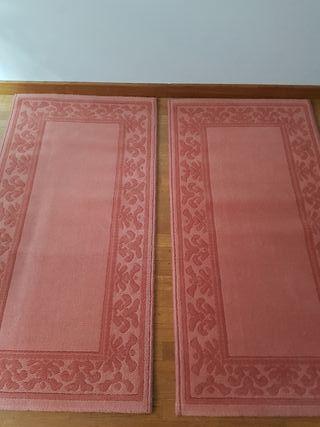 Alfombra pareja de alfombras