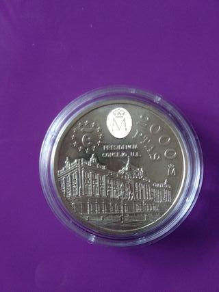 Moneda plata 1995 2000 pesetas sin circular