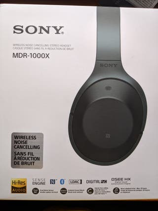 Auriculares Sony con cancelación de ruido