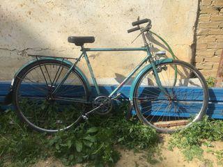 Bicicleta antigua frenos de varilla
