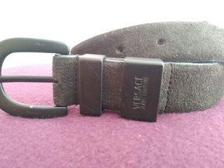 Cinturón de cuero VERSACE