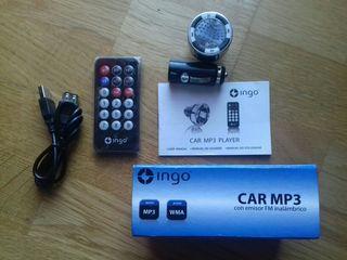 REPRODUCTOR mp3 coche radio fm - CAR INGO