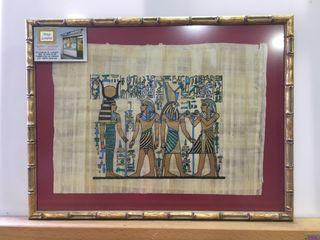 Papiro Egipcio 42x32 cm.