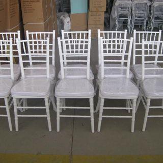 venta y alquiler sillas tiffany