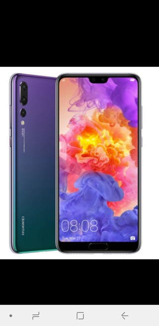 vendo Huawei P20 pro 2019 nuevo sin usar