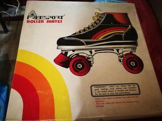Patines/Roller Skates de cuatro ruedas. Adulto