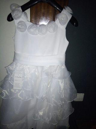espectacular vestido de niña fiesta