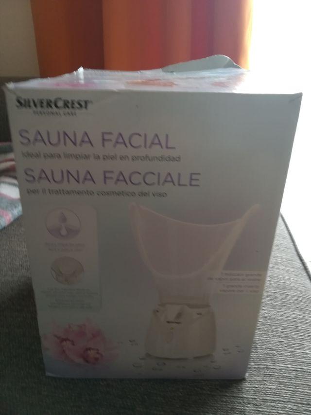 Sauna Facial Silver Crest
