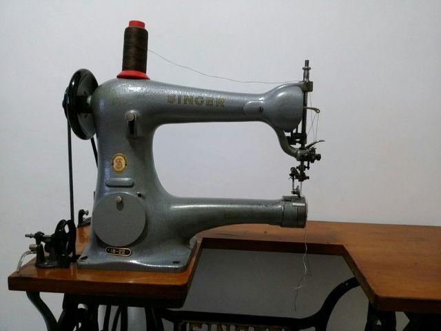 Maquina de coser cuero .l de segunda mano por 450 € en