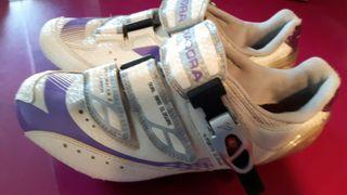 Zapatillas ciclismo Carretera Diadora Carbon