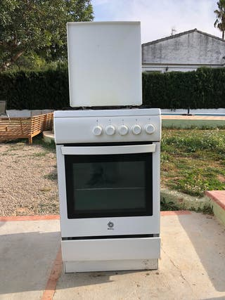 Cocina de gas con horno Balay