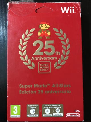 Super Mario All-Stars 25th aniversary