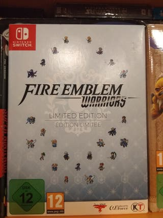 fire emblem warriors nuevo!