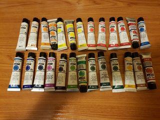 Pinturas TITAN Color al óleo extra fino 20 ml