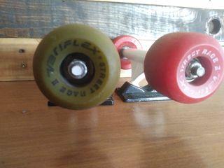 ejes y ruedas de skate variflex