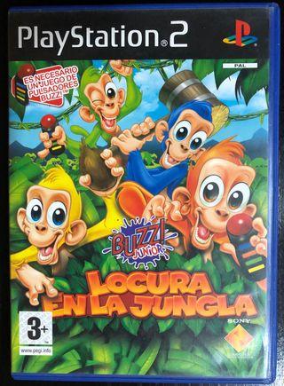 Buzz Junior Locura en la jungla PS2