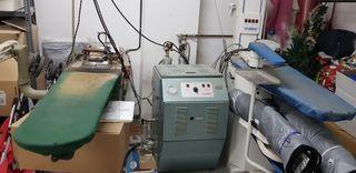 2 planchas industriales de vapor con caldera