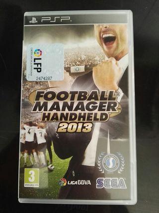 Juego Footbal Manager 2013