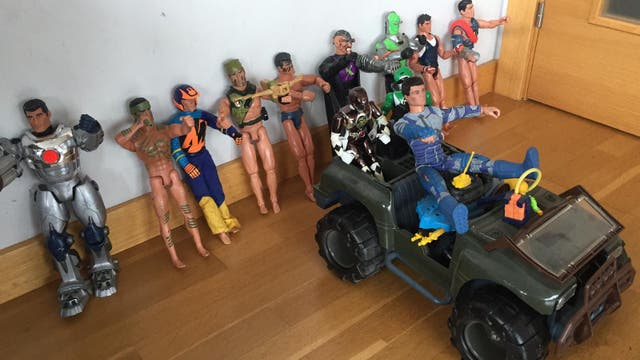 COLECCION DE ACTION MAN.