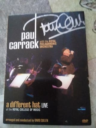 DVD PAUL CARRACK FIRMADO