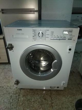 Lavasecadora aeg integrada