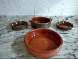 Cazuelas para cocinar al horno