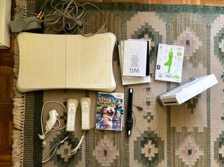 Wii + Wii fit