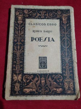 libro poesia de ruben dario