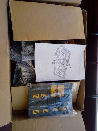 Kit de construcción + Retroexcavadora