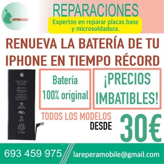 Cambiar batería iPhone 6s batería 6s