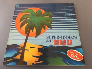 Vinilo LP Super Ídolos del Reggae