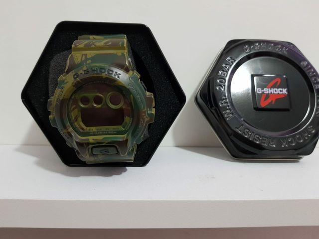 e89f5733536d Reloj Casio G SHOCK camuflaje   guerra   militar de segunda mano por ...