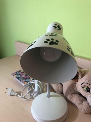 Lámpara flexo infantil + bombilla