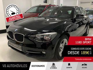 BMW 118d Sport F20 2012