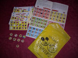 Loteria Disney años 70