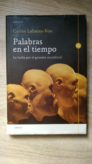 """Libro """"Palabras en el tiempo"""""""