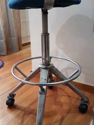 silla giratoria taburete con ruedas