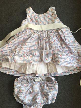 Vestido Ralph Lauren niña original 6-12 meses