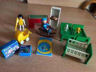 Playmobil lote habitación juguetes niños