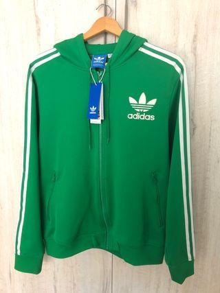 Mano Con Por Originals De 35 Segunda Capucha Sudadera Verde Adidas 60Swnqngf