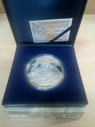 Moneda plata 50€ 2008 velázquez