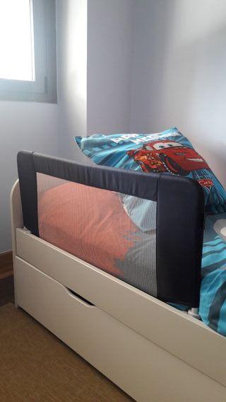 2 Barrera cama abatibles. 25€ cada una