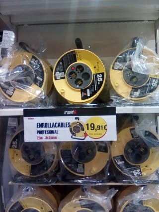 Enrrollacables profesional 25m IP20