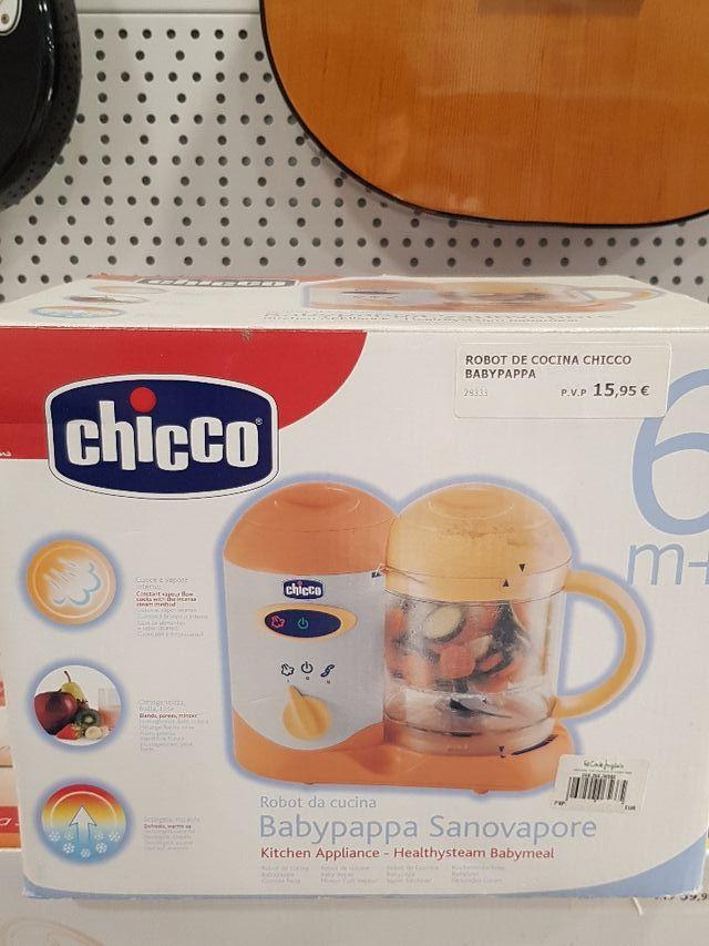 robot de cocina chicco babypapa
